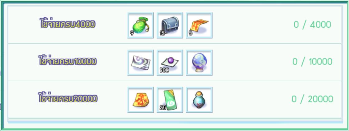 "[TS Online Mobile] Total Consume Reward ใช้ ""ตำลึงทอง"" ภายในเกม สะสมครบรับไอเทมเพียบ!!"