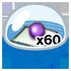 GACHA 50 สุ่มรับ กล่องบรรจุอาวุธขุนพลx2,หินอัพเกรดx999,ยันต์ล็อคคุณสมบัติล้างหลอมx35 การันตีครั้งที่ 100 รับ กระจกออกแบบแฟชั่นx5